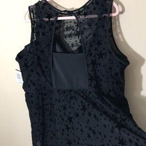 torrid Swim - Torrid size 4 D/DD Star mesh swimsuit dress